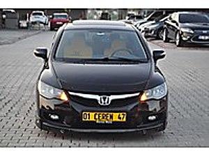 2011 ELEGANS SANRUF GERİ GÖRÜŞ KAMERA DOUBLE EKRAN AKSESUARLI  Honda Civic 1.6i VTEC Elegance