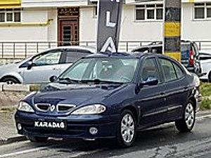 2002 MEGANE 1.6 16VALF VADELİ SENETLİ VERİLİR 200.000 KMDE Renault Megane 1.6 RTE