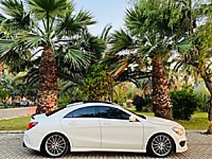 TR DE TEK ÖZEL SİPARİŞ TAM DERİ HAFIZA ISITMA DİKİŞLİ GÖĞÜS NAVİ Mercedes - Benz CLA 180 d AMG
