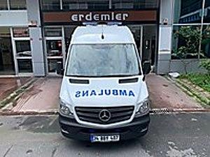 ERDEMLER DEN 2016 SPRİNTER 316CDI AMBULANCE HATASIZ Mercedes - Benz Sprinter 316 CDI