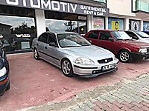 1998 MODEL OTOMATİK DEĞİSENİZ KAZASİZ ORJİNAL Honda Civic 1.4 1.4i