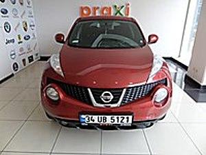 PRAXİ OTOMOTİV DEN 2013 NİSSAN JUKE 1.6 TEKNA BENZİNLİ-OTOMATİK Nissan Juke 1.6 Tekna