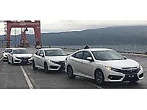 0 KM de  2 ADET BİRİ BENZİNLİ DİĞERİ BENZİN LPG li ECO ELEGANCE Honda Civic 1.6i VTEC Eco Elegance