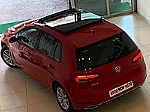 2020 MODEL SIFIR KM VW GOLF 1.5 TSİ CAM TAVAN-TORNADO KIRMIZI... Volkswagen Golf 1.5 TSI Comfortline