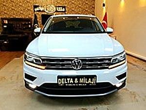 DELTA   MİLAJİ OTODAN HATASIZ 2019 TİGUAN 1.5 TSI Volkswagen Tiguan 1.5 TSI  Comfortline