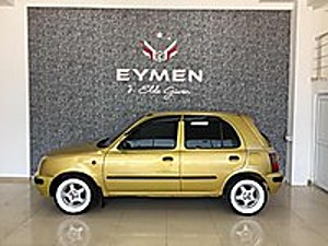 EYMEN OTOMOTİVden NİSSAN MİCRA OTOMATİK Nissan Micra 1.3 GX