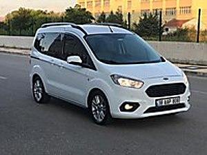 2018 COURİER 1.5 DCİ TİTANİUM PLUS   HATASIZ  46 BİN KM.   Ford Tourneo Courier 1.5 TDCi Titanium Plus