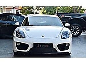 SCLASS 2014 CAYMAN 2.7 cc 275 HP BAYİ HATASIZ Porsche Cayman Cayman
