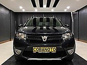 ÇOBAN OTOMOTİV DEN 2016 DACİA SANDERO 1.5DCİ STEPWAY HATASIZ ORJ Dacia Sandero 1.5 dCi Stepway