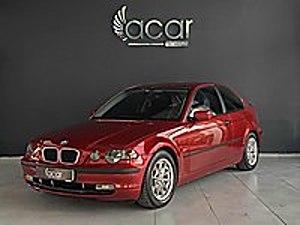 BMW 3.16ti COMPACT ATEŞ KIRMIZI   SUNROOF  DEĞİŞEN TRAMER YOK BMW 3 Serisi 316ti Compact