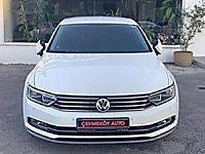 ÇEKMEKÖY OTOMOTİVDEN 2017 PASSAT DSG TABLET EKRAN  18 FATURA Volkswagen Passat 1.6 TDI BlueMotion Comfortline