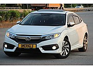 ÖMEROĞLU NDAN 2019 MODEL HATASIZ HONDA CİVİC 1.6 ECO ELEGANCE Honda Civic 1.6i VTEC Eco Elegance