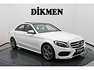 DİKMEN EXCLUSIVE - HATASIZ - SAĞ SOL HAFIZA ISITMA - ELK.DİRKSYN Mercedes - Benz C Serisi C 200 d BlueTEC AMG