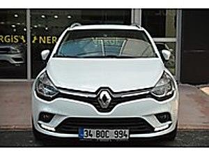 HATASIZ BOYASIZ 37 BİNDE SERVİS BAKIMLI GARANTİLİ NERGİSOTOMOTİV Renault Clio 1.5 dCi SportTourer Touch