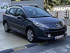 2009-130.000 KM-BOYASIZ DEĞİŞENSİZ-DİZEL SW OUTDOOR-SENETLE VADE Peugeot 207 1.6 HDi Outdoor