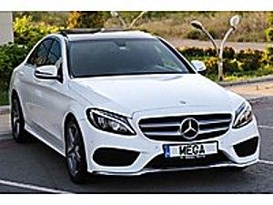 Mega Otomotiv. 2016 Mercedes-Benz C 180   AMG   AHŞAP TRİM   ORJ Mercedes - Benz C Serisi C 180 AMG 7G-Tronic