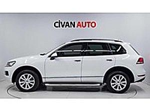 CİVAN VOLKSWAGEN TOUAREG 3.0 TDI PREMİUM HATASIZ BOYASIZ EN DOLU Volkswagen Touareg 3.0 TDI Premium
