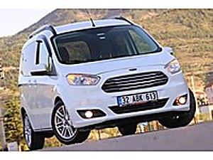 ASK OTOMOTİV  DEN HATASIZ   BOYASIZ   62.000 KM TİTANİUM PLUS Ford Tourneo Courier 1.6 TDCi Titanium Plus