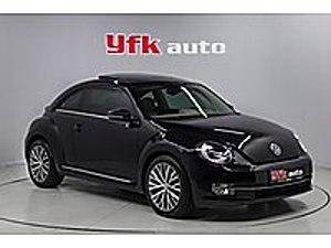 YFK DAN2014 BETTLE CAMTAVANLI DİZEL OTOMOTİK HATASIZ LED Lİ FULL Volkswagen Beetle 1.6 TDI Design