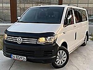 2016 MODEL 2.0 TDİ 9 1 MİNİBÜS RUHSATLI ÇİFT KLİMA YENİ KASA Volkswagen Transporter 2.0 TDI Camlı Van