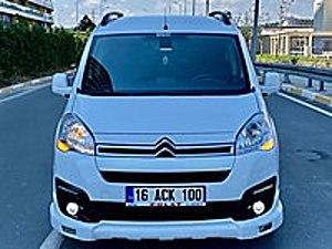 2017 MODEL CİTROEN BERLİNGO 47 BİNDE EKRANLI FULL AKSESUARLI Citroën Berlingo 1.6 HDi Selection