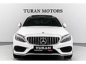 TURAN MOTORS 2016 AMG İMZALI SERİ CAM TAVAN MAT AHŞAP KAPLAMA Mercedes - Benz C Serisi C 200 d BlueTEC AMG