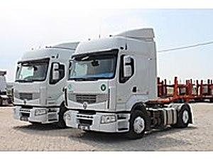 2 ADET 2011 MODEL RENAULT 460 OTOMATİK KLİMA DEP TRANSPORT Renault Premium 460.19 T
