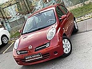 AUTO HAYAL 2008 NİSSAN MİCRA YENİ KASA OTOMATİK 98 BİN KM Nissan Micra 1.2 Passion