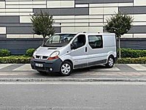 MURATOĞLU  2006 RENAULT TRAFİC 1.9 DCİ CONFORT MASRAFSIZ Renault Trafic Multix Trafic Multix 1.9 dCi Confort