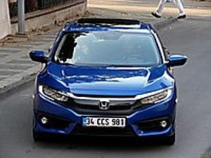 ORJİNAL-BOYASIZ-TRAMERSİZ-SIFIR AYARINDA HONDA CİVİC ECO EXECTVE Honda Civic 1.6i VTEC Eco Executive