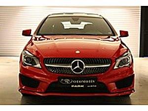 2015 Boyasız CLA 180 Dizel Kırmızı Panaromik Tavan 8  Ekran Mercedes - Benz CLA 180 d AMG