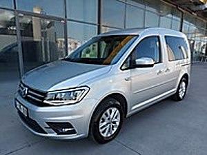 HAS AUTO DAN İLK EL EXCULUSIVE ORJİNAL BOYASIZ Volkswagen Caddy 2.0 TDI Exclusive