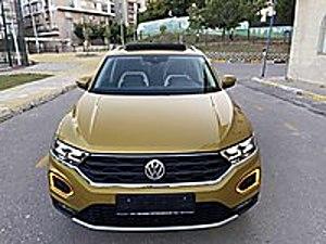 0 KM 2020 T-ROC 1.5 TSİ HİGHLİNE CAM TAVANLI GERİ GÖRÜŞ LANSMANR Volkswagen T-Roc 1.5 TSI Highline