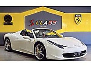 SCLASS dan 2012 FERRARİ 458 SPIDER VERGİ BARIŞLI HATASIZ Ferrari 458 Spider