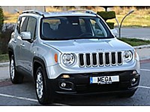 MEGA OTOMOTIV. 2018 JEEP RENEGADE 1.6 MJT DCT  LIMITED   BOYASIZ JEEP RENEGADE 1.6 MULTIJET LIMITED