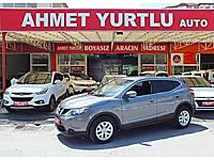 AHMET YURTLU AUTO NİSSAN QASHQAI 1.2DIG-T VİSİA 53000KM BOYASIZ Nissan Qashqai 1.2 DIG-T Visia