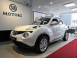 2019 ÇIKIŞLI   0   AYARINDA GERİ GÖRÜŞ NAVİGASYON İNCİ BEYAZ Nissan Juke 1.6 Sky Pack