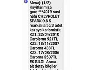 80 BİN KM DE ÇOK TEMİZ KLİMALI Chevrolet Spark 0.8 SE