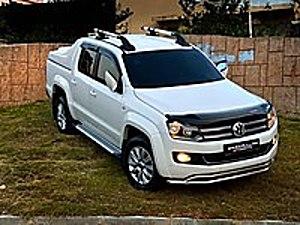 ŞAHİNOĞULLARI OTOMOTİVDEN 2015 MODEL BOYASIZ 4x4 DSG Volkswagen Amarok 2.0 BITDI Highline