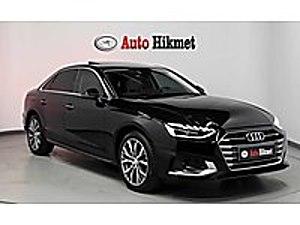 AUTO HİKMET TEN HATASIZ 2019 AUDİ A4 SEDAN 2.0 TDI ADVANCED Audi A4 A4 Sedan 2.0 TDI Advanced