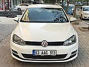 2013 GOLF 7 DİZEL MOTOR GARANTİLİ SERVİS BAKIMLI MASRAFSIZ TEMİZ Volkswagen Golf 1.6 TDI BlueMotion Midline Plus