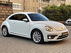BOYASIZ 2016 VOLKSWAGEN BEETLE 1.2 TSI DSG ORJİNAL KM 14.000 Volkswagen Beetle 1.2 TSI Design