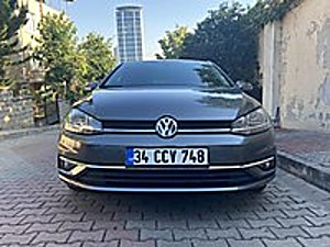 2019 MODEL VW GOLF COMFORTLİNE 13.000 KM EKRANLI GARANTİLİ Volkswagen Golf 1.6 TDI BlueMotion Comfortline
