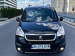 2017 MODEL PARTNER HATASIZ BOYASIZ ZENİTH CAM TAVAN FUL FULL Peugeot Partner 1.6 HDi Zenith