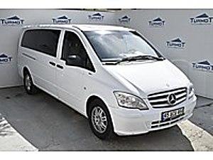 3 AY ERTELEME  53.900 PEŞİNLE  BOYASIZ  OTOMOBİL RUHSAT OTOMATİK Mercedes - Benz Vito 116 CDI