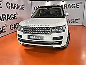 GARAGE 2015 RANGE ROVER 3.0 TDV6 AUTOBIOGRAPHY SOGUTMA MASAJ Land Rover Range Rover 3.0 TDV6 Autobiography