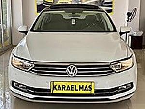 KARAELMAS DAN 1.6 TDİ DSG CAM TAVAN 28.000 KM DE PASSAT BAKIMLI Volkswagen Passat 1.6 TDI BlueMotion Comfortline