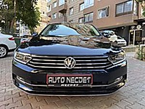 AUTO NECDET  DEN 2016 PASSAT DİZEL OTOMATİK COMFORTLINE HATASIZ Volkswagen Passat 1.6 TDI BlueMotion Comfortline