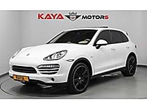 KAYA MOTORS  CAYENNE  30 PEŞİN KALAN 12 24 36 48 AY TAKSİT Porsche Cayenne 3.0 Diesel