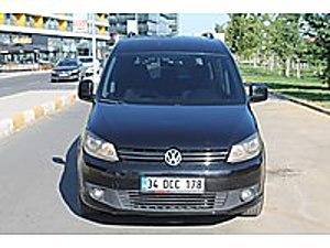 KANIK OTO 2012 VOLKSWAGEN CADDY 2.0TDI SPORTLİNE HATASIZ BOYASIZ Volkswagen Caddy 2.0 TDI Sportline
